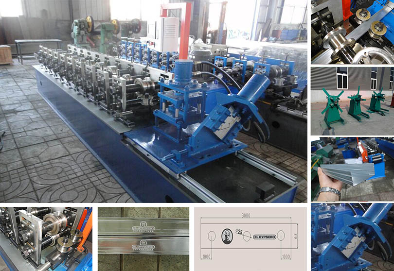 Multifunction Keel Forming Machine-1