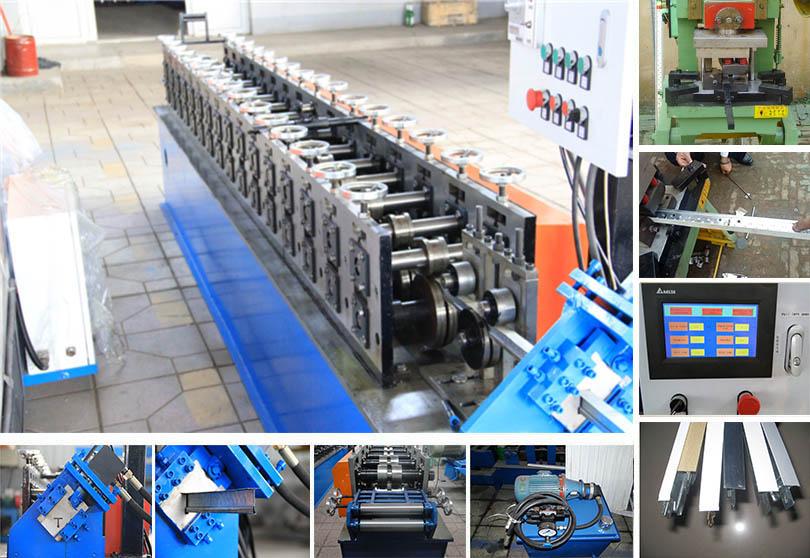 Various types of keel forming machine