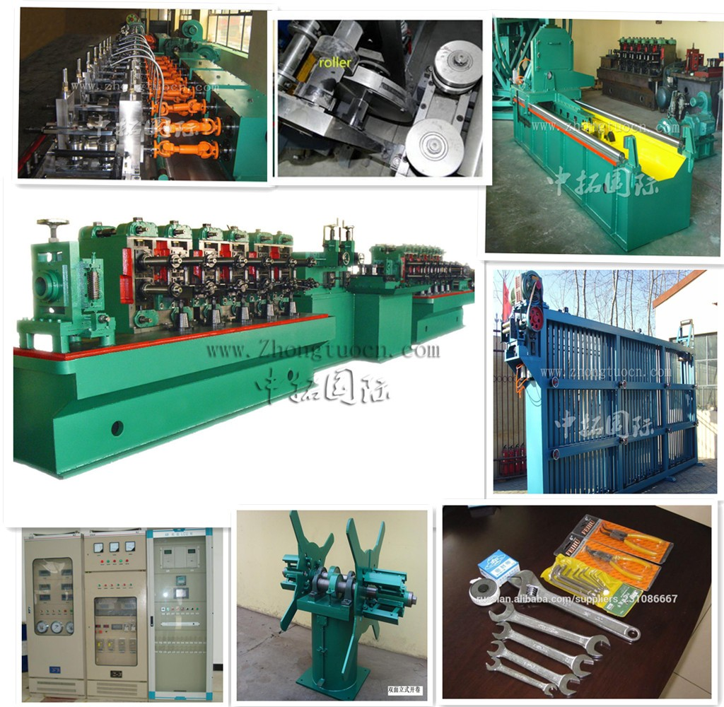 High-accuracy-galvanized-steel-weld-pipe-machine