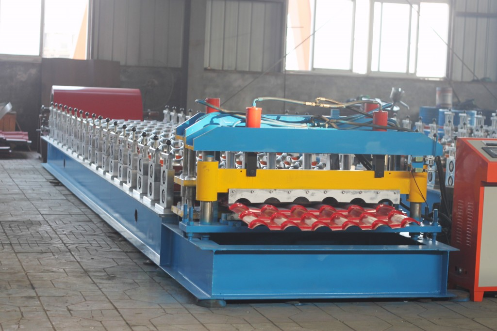 pantile of color steel roll forming machine