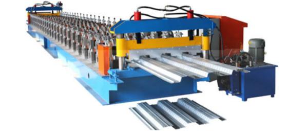 22 follr decking roll forming machine