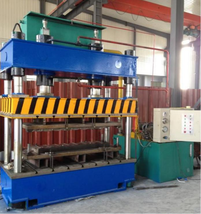 Stone-coated roof tile line making machine 3