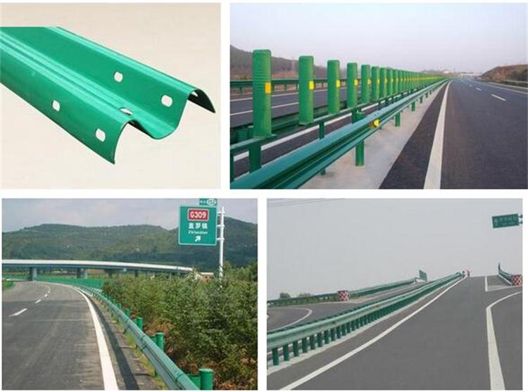 Expressway traffic crash barrier forming machine