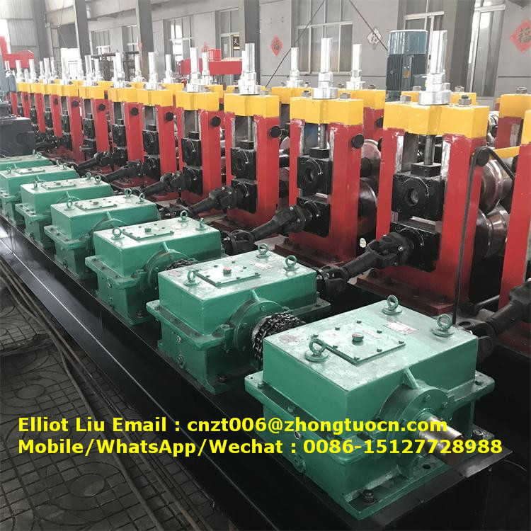 expressway crash barrier roll forming machine (7)