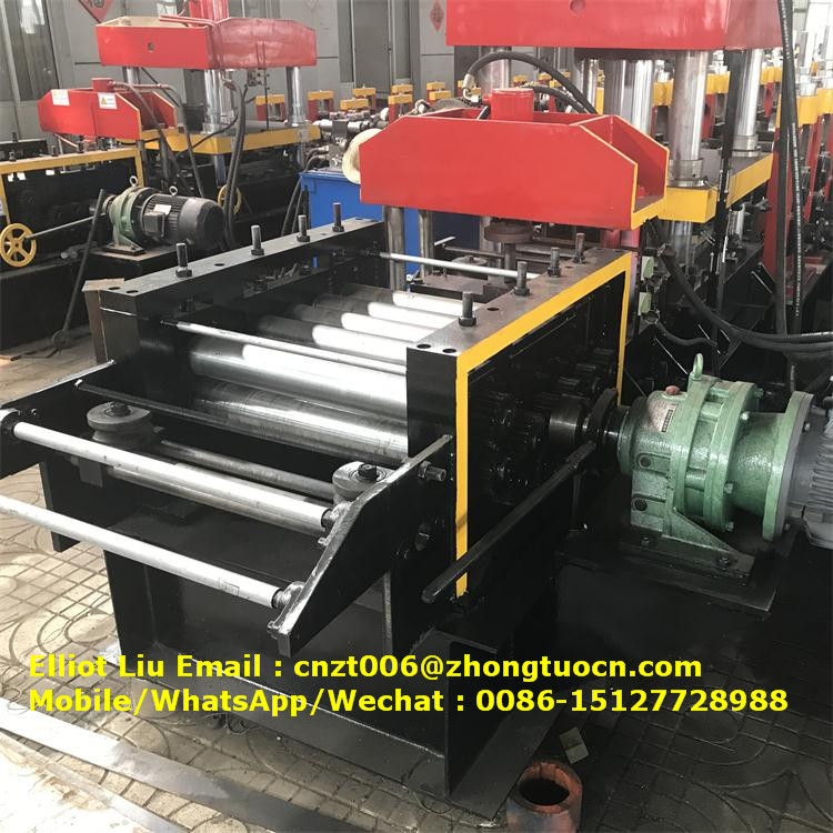 expressway crash barrier roll forming machine (9)