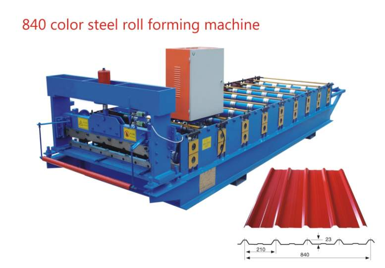 840 metal roof roll forming machine